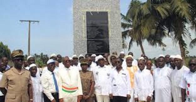 Commémoration de l'attentat terroriste du 13 mars 2016 à Grand-Bassam