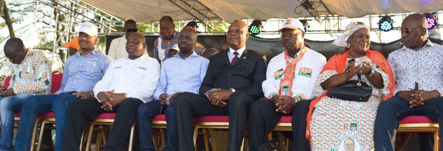 La cérémonie d'investiture des dirigeants RHDP départementaux de Grand-Bassam reportée.